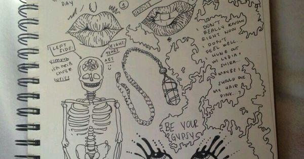 Tumblr Grunge Doodle Etc Pinterest Grunge