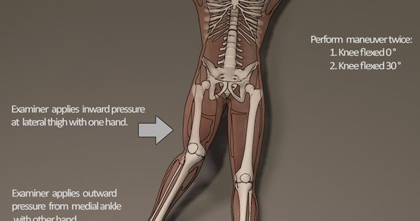 Valgus Stress Test For Mcl Orthopedics Pinterest