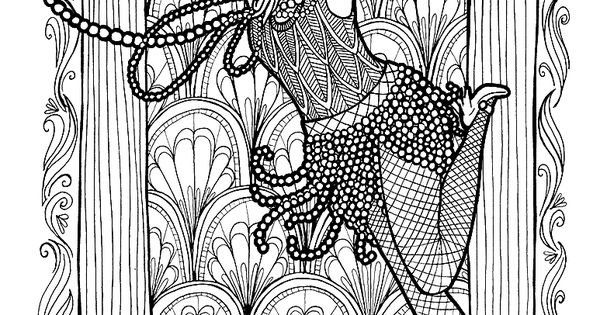 coloring pages 1920s - photo#31