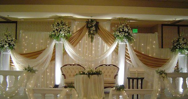 Wedding Angels Decorating Ltd: Wedding Stage Decoration Design