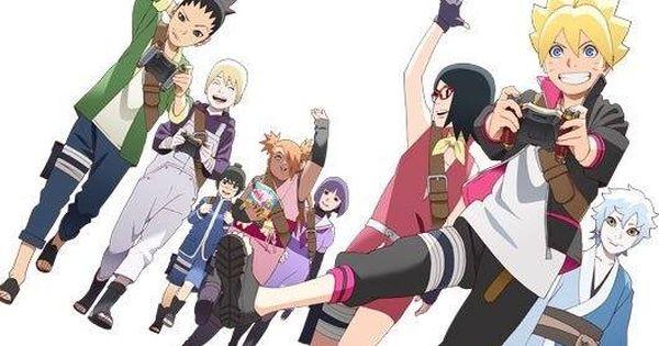 Portada En Lq Del 1 Dvd Box Boruto Naruto Next Generations