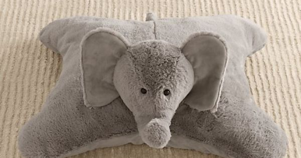 Rh Floor Pillows : $39 Cuddle Plush Elephant Floor Pillow Nursery Accessories Restoration Hardware Baby & Child ...