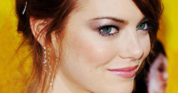 Emma Stone. I always love her hair color.