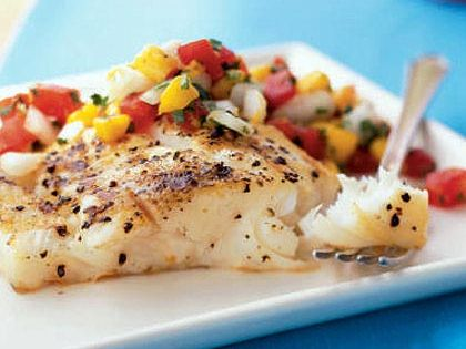 Summer is just around the corner and this Grilled Halibut and Fresh