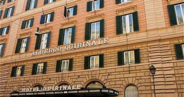 Been Third Leg Of Honeymoon Hotel Quirinale Rome Italy With