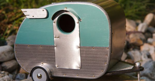 travel trailer bird house,