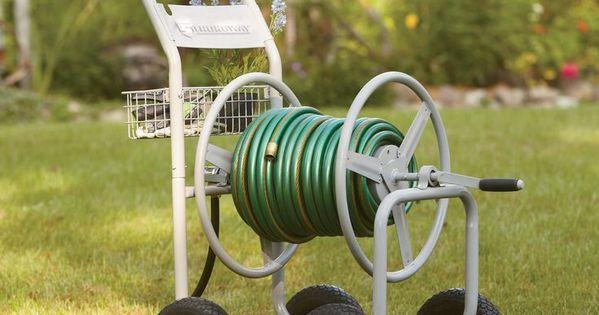 Strongway Garden Hose Reel Cart Holds 5 8in X 400ft Hose Hose Reel Garden Hose And Gardens