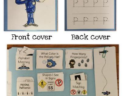 Police, Lap books and Community helpers on Pinterest