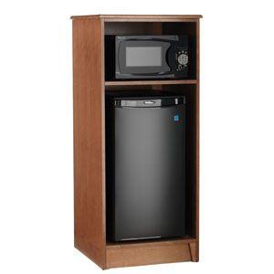mini fridge cabinet