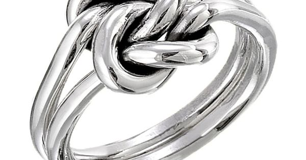 Silver Double Knot Ring: I am not a big jewelry person but