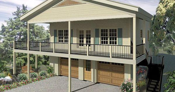 Garage Floor Storm Shelter Plans: 006G-0171: 2-Car Garage Apartment Plan With Storm Shelter