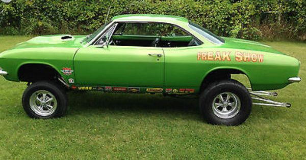 67 Chevy Corvair Gasser All Kinds Of Cars Pinterest