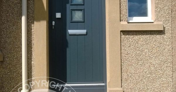 A selection of fitted solidor timber composite doors for Composite door design your own