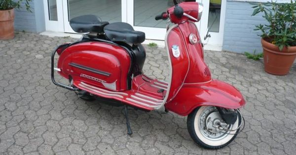 1955 vintage nsu motocicleta marco