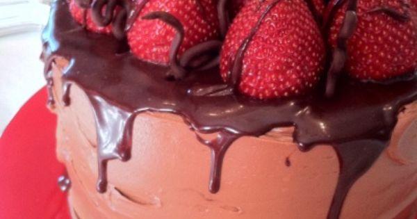 Chocolate strawberries, Chocolate strawberry cake and Celebration ...