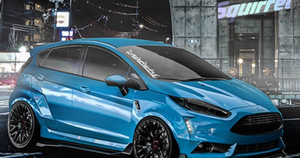 Check Out New Work On My Behance Portfolio Ford Fiesta St 2016 Tuning Project Crazy Squirrel Http Be Net Gallery 5 Ford Fiesta St Ford Fiesta Fiesta St