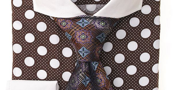 Steven Land Dress Shirts  DS1245 | Brown $69 #StevenLand #Holidays | See more about Dress Shirt, Brown and Shirts.