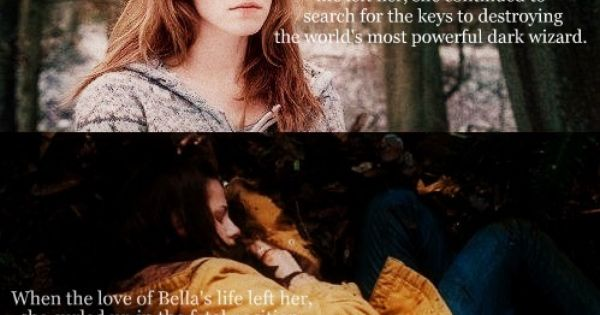 Hermione is so much better :P