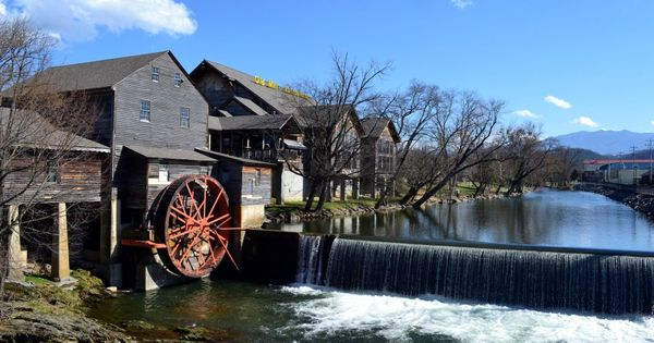 The Old Mill Pigeon Forge Tennessee Daily Travels