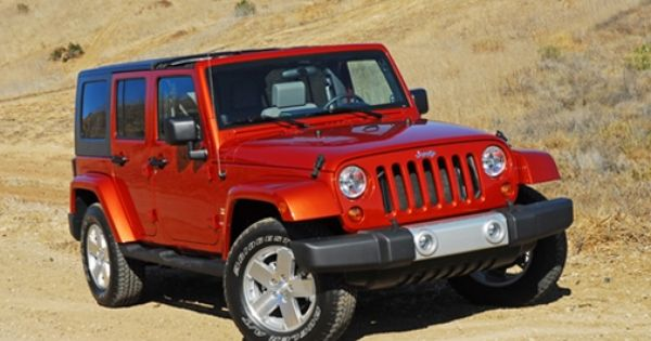 Sunburst Orange Pearl 2009 Jeep Wrangler Unlimited Sahara 4x4