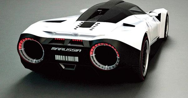 Super car with new nitro powered engine.
