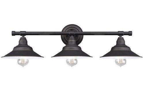 Shop Kichler Lighting 4 Light Bayley Olde Bronze Bathroom: $50 Westinghouse Deansen Oil Rubbed Bronze 3-Light Vanity