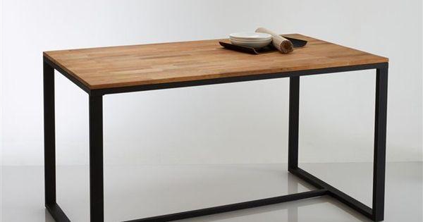 table 4 couverts en noyer massif about et acier hiba la redoute interieurs prix avis. Black Bedroom Furniture Sets. Home Design Ideas