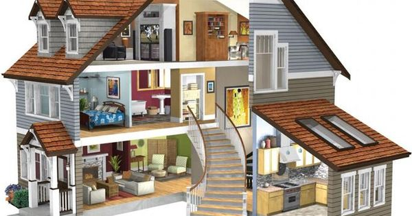 Dollhouse room designs home plan design servicec for Classic homes llc
