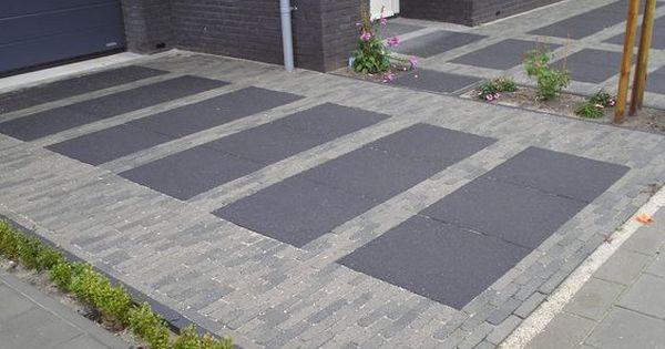 Afbeeldingsresultaat voor betonnen oprit prijs voortuin pinterest prijs tuin en tuin - Moderne tuin ingang ...