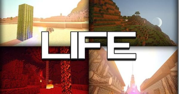 Minecraft 1 5 1 Life Hd Realistic Texture Pack 64x 128x Coisas