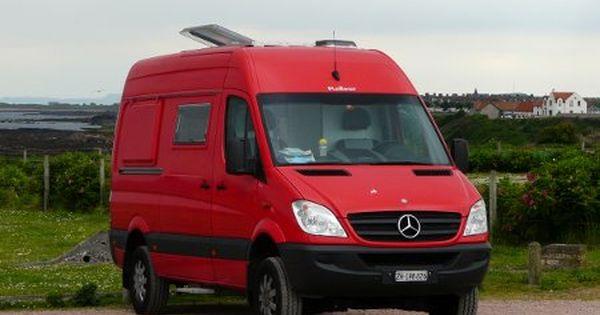 Kaiser Motorhomes 4x4 Mercedes Sprinter Campervan In Fife
