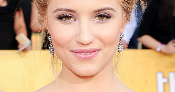 Dianna Agron's fishtail braid updo