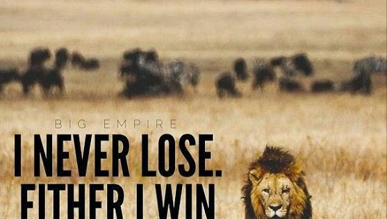 I never lose. Either I win or I learn. | Third Grade Think ...