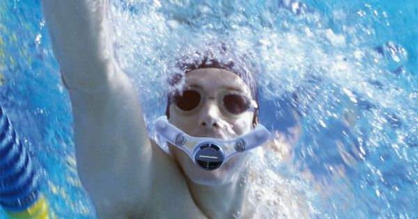 Breathe Like a Dolphin With This Double-Sided Swimming Snorkel... a fully enclosed