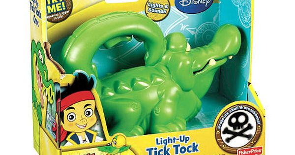 Fisher Price Jake And The Never Land Pirates Light Up Tick
