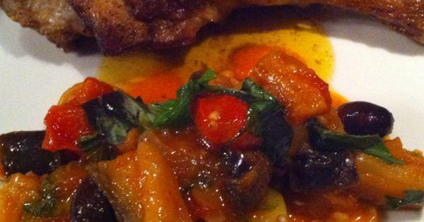 Chicken legs, Ratatouille and Fresh basil on Pinterest