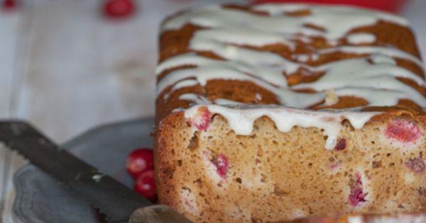 Paleo Cranberry Lemon Bread - by @Againstallgrain