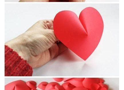 Make a 3D PaperHeart For Wall DIY Decoration
