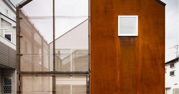 Urbanes cham leon wohnhaus in tokio wohnhaus for Das japanische wohnhaus