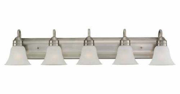 Shop Sea Gull Lighting 3 Light Melody Brushed Nickel: Possible Light Fixture For Above Mirror (www.lowes.com
