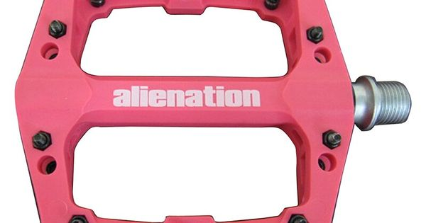 "ALIENATION PEDALS AN FOOTHOLD 9//16/"" BMX MTB BLACK"