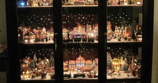 Gorgeous Pennsylvania House Fiber Optic Showcase Dept 56
