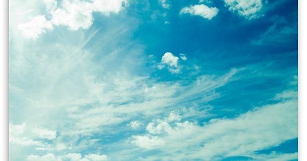 Beautiful Light Blue Sky Hd Wallpaper For 4k Uhd Widescreen Desktop Smartphone Blue Sky Wallpaper Sky Images Sky Photoshop