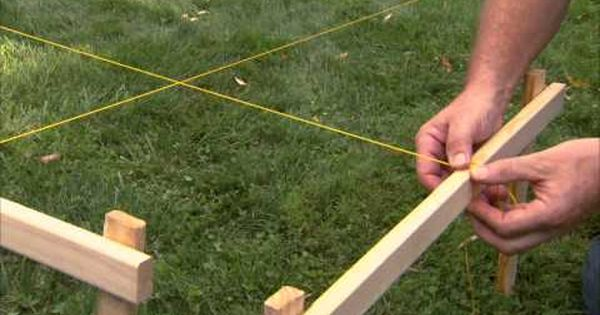 Fence installation tips layout and digging post holes for Chain link fence planner