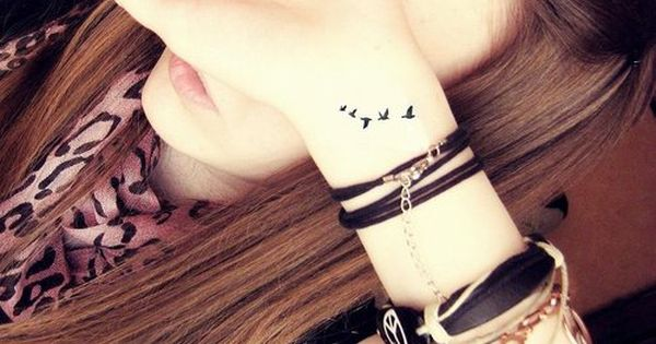 bird tattoos, wrist tattoo, small tattoo, tattoo