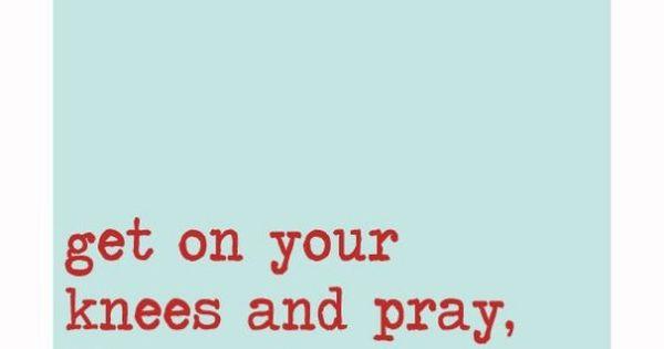 Pray hard work hard