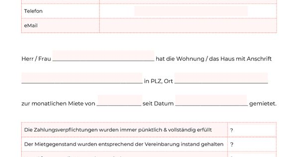 Mietschuldenfreiheitsbescheinigung Vermieterauskunft Pdf Vorlage Muster Zum Downloaden Vorlagen Empfehlungsschreiben Bescheinigung