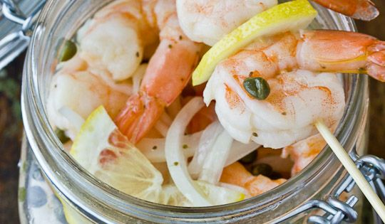 Pickled Shrimp from Junior League of Baton Rouge Cookbook River Road 2