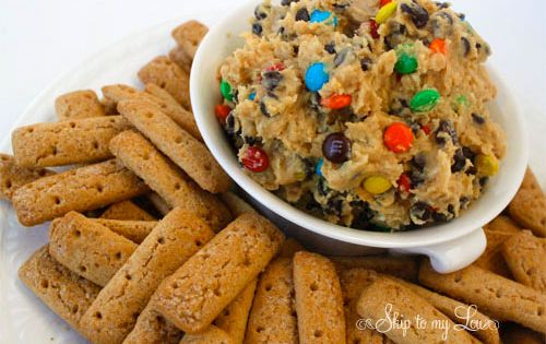 Monster Cookie Dough Dip- now I have the cookie dip trifecta!