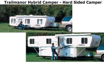 Trailmanor Hybrid Camper Hybrid Camper Pop Up Camper Camper